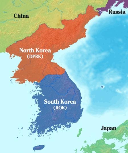 Korea labels