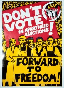 UDF-Don't vote