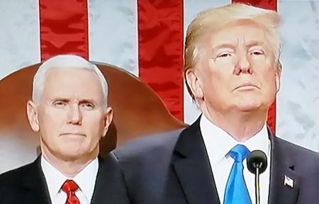 Trump & Pence 2018 SOTU